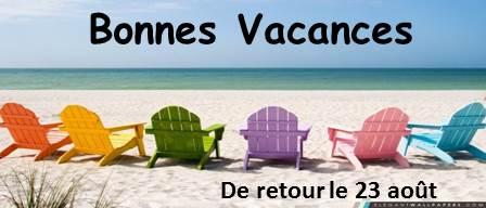 Diapositive Bonnes Vacances