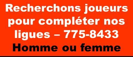 Recherchons Joueurs Orange